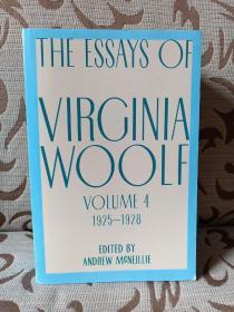 Essays of Virginia Woolf, Vol. 4, 1925-1928 - 伍尔夫散文集 卷四  平装本