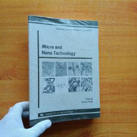 Micro and Nano Technology 【未拆封】