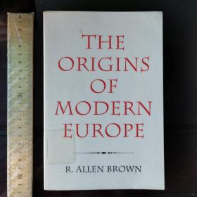 The origins of modern Europe 现代欧洲的起源 英文原版