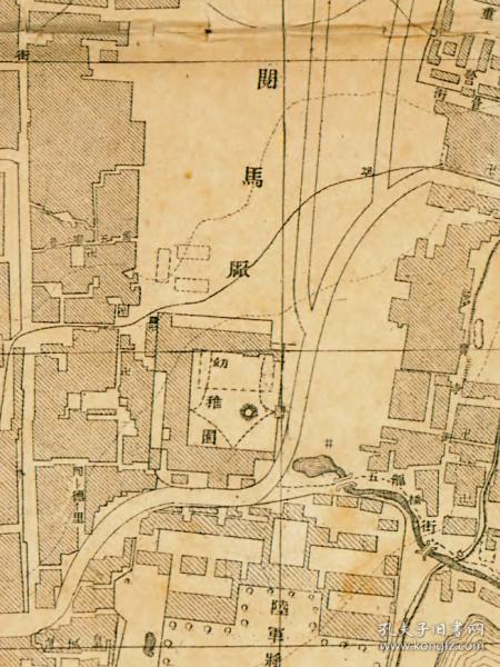 0634古地图1909 湖北省城内外详图 陆军特别小学堂 宣统元年