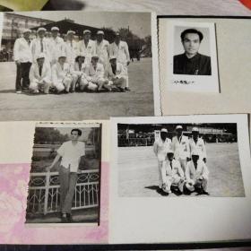 黑白老照片 4张合售