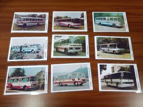 国产老款大客车  怀旧照片70张 各种类型品牌车型,每张照片配文字说明  车型生产企业 自打印6寸塑封照片70张