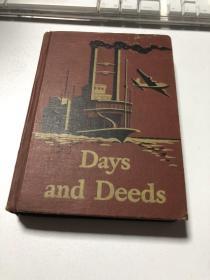 Days and Deeds(精装)