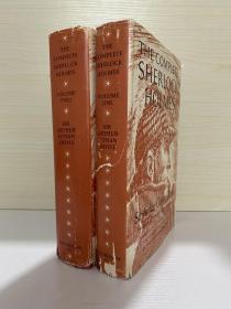 The complete Sherlock Holmes   福尔摩斯全集 布面精装原版两卷全 有书衣