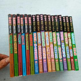 冒险小虎队(6本超级版有卡片十11本挺进版8本无卡片共17本合售 [A套----16]