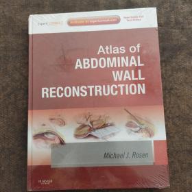 Atlas of ABDOMINAL WALL RECONSTRUCTION 全新未开封