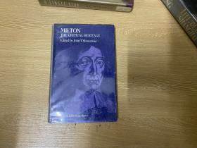 Milton:The Critical Heritage   弥尔顿研究资料集,众多名家写 弥尔顿,精装英国版