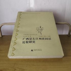 广西汉语方言重点研究丛书:广西崇左江州蔗园话比较研究