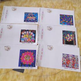 明信片 1995年 15分约600枚