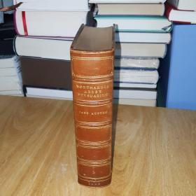 英文  1906  年伦敦出版 简.奥斯汀《诺桑觉寺   劝导》