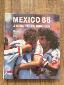 1986世界杯足球画册 法国罗兰多levy原版世界杯画册 world cup赛后特刊 经典画册 包邮快递