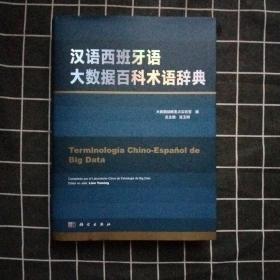 汉语西班牙语大数据百科术语辞典(正版现货)库存书