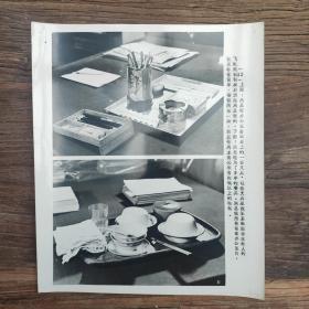 超大尺寸:周恩来总理生前用的文具和餐具