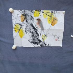 杨正新,号野鹤。1942年生,上海市人。 1958年为江寒汀先生入室弟子。1961年毕业于上海美术专科学校中专部绘画班,1965年毕业于上海美术专科学校中国画系。后入上海中国画院从事中国画创作研究至今。作品多次选送美、法、日等国展出,并于上海美术馆及澳大利亚、新加坡、马来西亚等国举办个人画展。从90年代中期开始,杨正新的水墨画又有了新的变化。同样是花鸟、山水,杨正新的花鸟、山水作品除了有笔有墨,