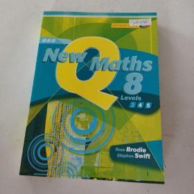 【外文原版】New Maths 8