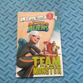 Monstersvs.Aliens:TeamMonster(ICanRead!)