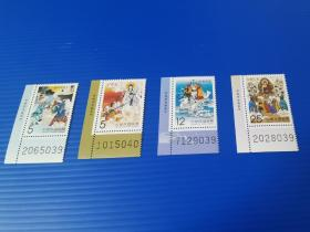 特562 西游记邮票 中国古代小说邮票 四 角边 原胶全品