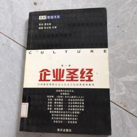 企业圣经:中国最受尊敬企业之企业文化经典案例解读