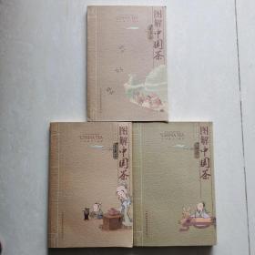 图解中国茶:普洱茶  乌龙茶  绿茶(三册合售)