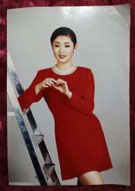原版女明星 老照片(大尺寸19.7*13.5cm)