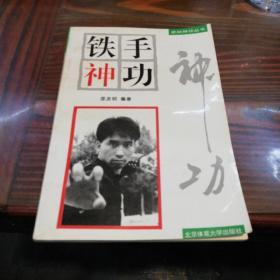 铁手神功   北京体育大学出版社1996年一版一印仅印6800册