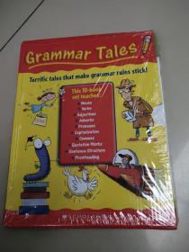 学乐英语语法故事书Grammar Tales:用故事专门去学语法10 册盒装(有塑封)