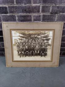民国时期日本高级军官将领老照片,尺寸超大,品相一流,收藏佳品