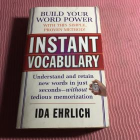 Instant Vocabulary[迅速掌握英语词汇]