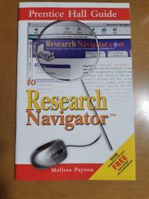 英文原版;PRENTICE HALL GUIDE TO RESEARCH NAVIGATOR TM(2006)