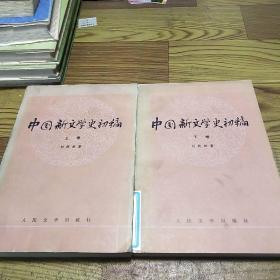 中国新文学史初稿(上下全)共两卷