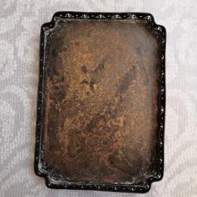 纯铜长方多边形茶盘