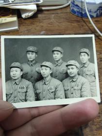 1954年沈家门66师全体文教合影照片