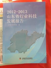 2012~2013山东省行业科技发展报告