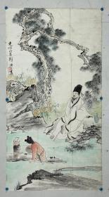 郑济炎 1944年年生,江苏常熟人,著名画家刘旦宅入室弟子,为上海屏山书画院画院高级美术师,常熟书画院特聘画师,江苏省美术家协会会员。2000年8月被列入吴门画派精英,在恩师刘旦宅先生的指导下,他严从师教、博采众长、刻苦磨练、探索求新,逐步形成了自己独有的风格,是吴门画坛的后起之秀,是活跃于当代画坛的实力派画家,出版有《郑济炎、郑棣青画选》。《豆荚青青》被江苏省美术馆收藏。