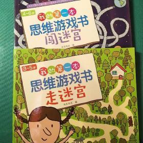 3~5岁我的第一本思维游戏书·走迷宫