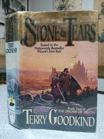1995年,英文原版,精装带书衣,初版本小说,著名小说家泰瑞古德坎系列小说,泪之石,stone of tears