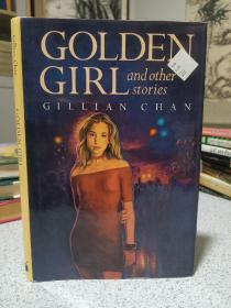 1997年,英文原版,精装带书衣,孔网唯一,黄金女孩,golden girl and other stories