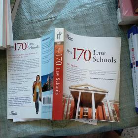 2007(170所最好的法学院2007版)The Best 170 Law Schools  外文版  请看图 实物拍图