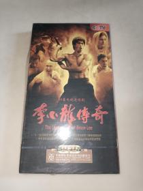 50集电视连续剧 李小龙传奇 8片装DVD 全新 未开封 正版