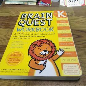 Brain Quest Workbook: Kindergarten  益智练习:K级 英文原版