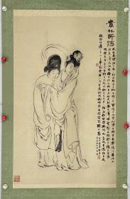 """曾志鎏  生于1931年,香港本土画家,画猴名家。上世纪60年代初,他已是香港颇有造诣的肖像油画家。他的女人肖像画得很漂亮,曾被称为""""靓女画家""""。后因他仰慕杨善深的国画艺术,于1969年拜杨善深为师。转画国画后,专攻画猴,他所绘猕猴,神态生动、妙趣横生。20世纪80年代初移居美国波士顿,因身处异乡环境所困致其长期沉寂于市,与香港画坛亦较少联系。90年代初,因病不幸离世。曾任香港春风画会首届会长"""