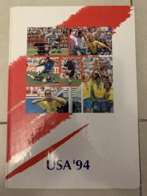 瑞典原版足球画册-1994世界杯
