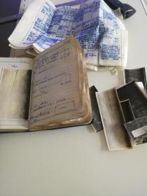 北满钢厂63年二季度笔记本(大量实物照片及锻钢记录)