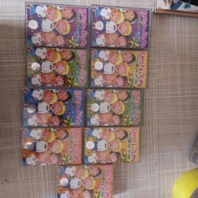 磁带:英语儿歌大家唱 磁带9盒