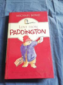 Love from Paddington 英文原版精装 库存书无笔记