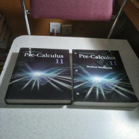 Pre-Calculus11(精装)、Pre-Calculus11 student workbook平装 (两本一套合售)仔细看描述