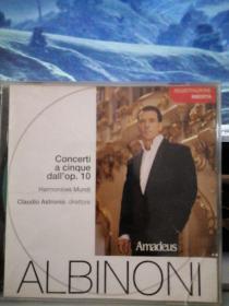 阿尔比诺尼《大协奏曲》【原版进口CD】