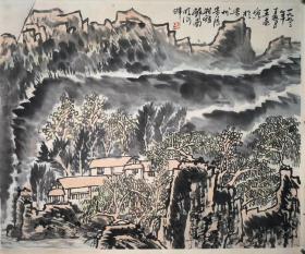 中国美协会员、中国人民大学画院副院长、艺术工作室导师王乘山水精品