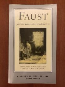 Faust: A Tragedy (Norton Critical Editions) (Second Edition)(现货,实拍书影)