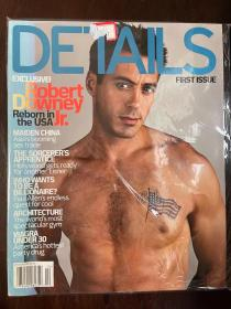 Details magazine 杂志 robert downey 小罗伯特唐尼